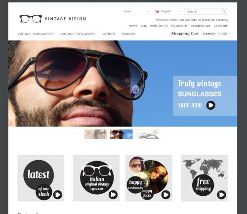 Vintage-Vision.com Vintage Eyeglasses & Sunglasses